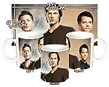 MasTazas Sobrenatural Supernatural Jensen Ackles Jared Padalecki I Tasse Mug