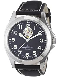 Zeno Watch Basel Men's Automatic Watch Ghandi 8112U-a1 with Leather Strap