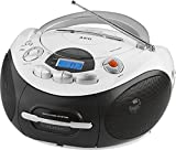 Stereo-Radio Ghettoblaster tragbar Stereoanlage Stereo CD-Player MP3 AUX-IN