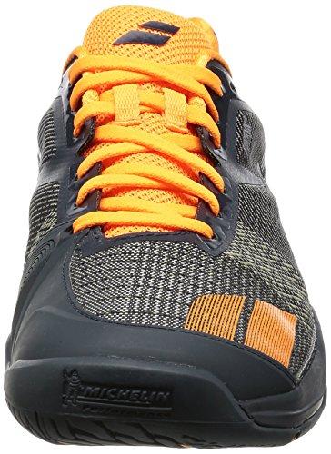 Babolat da uomo jet all Court scarpe da tennis ARANCIONE GRIGIO