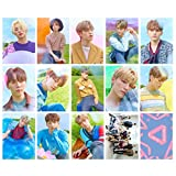 dfhdrtj Novelty Korean An Idol Seventeen Regular 3Rd Album Set Of Homemade Double-Sided Small Card Hd Film(None H01)