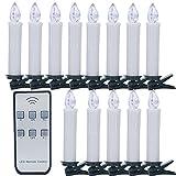 Weihnachtskerzen SANVA 10/20/30/40 Stück LED Kerzen...