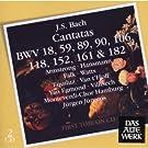 Kantaten BWV 18,59,89,90,106,118,152,161 & 182