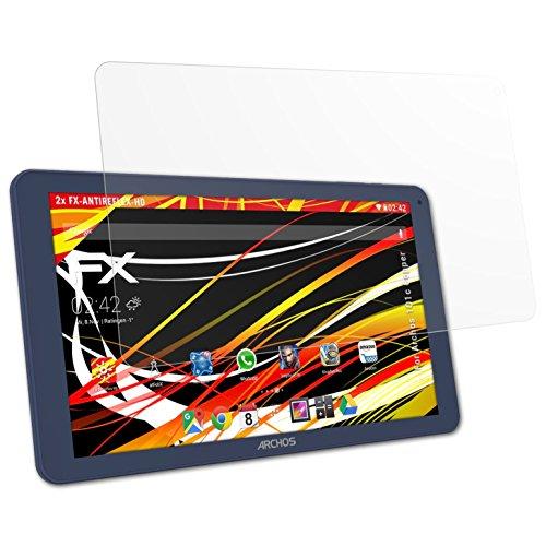 atFolix Schutzfolie kompatibel mit Archos 101c Copper Bildschirmschutzfolie, HD-Entspiegelung FX Folie (2X)