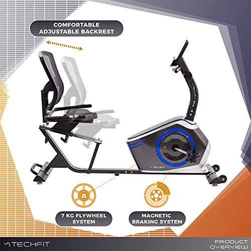 Zoom IMG-1 techfit r410 cyclette orizzontale recumbent