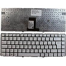 Keyboards4Laptops Sony Vaio VPC-EA1S1E W Blanco Layout Francés Teclado de Repuesto para Ordenador portátil