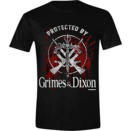 The Walking Dead - Grimes and Dixon - T-shirt Homme, Vêtements