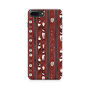 PRINTASTIC PR_065 Tribal Party APPLE Iphone-7 Plus Back Case/Cover -Amazing colors & long lasting prints, High-resolution, Matte Finished and soft to touch, 3D Printed, Polycarbonate Material, Scratch resistant, Water resistant, Dust resistant, Fadeproof Mobile Hard Back Case/Covers
