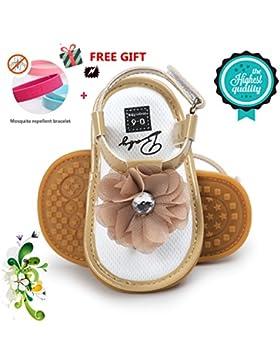 Zapatos de Bebé, Morbuy Zapatos Bebe Primeros Pasos Verano Recién nacido 0-18 Mes Niñas Bebé Casual Verano Zapatos...