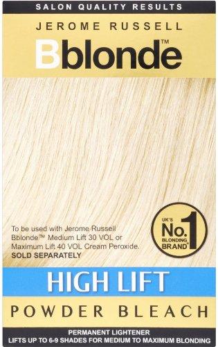 Jerome Russell B-Blonde haute Sachets Ascenseur poudre de blanchiment pour utilisation avec du peroxyde crème 4