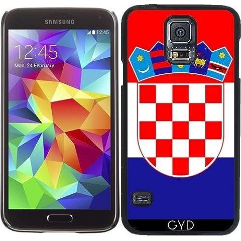 Funda para Samsung Galaxy S5 (SM-G900) - La Bandera De Croacia by BruceStanfieldArtist