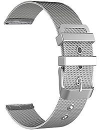 9462885ced30 BarRan reg  18MM reloj de manera pulsera reemplazo Milanese banda de malla  metálica para Daniel