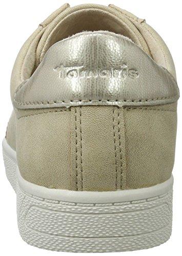 Tamaris 23622, Baskets Basses Femme Beige (SISAL 408)