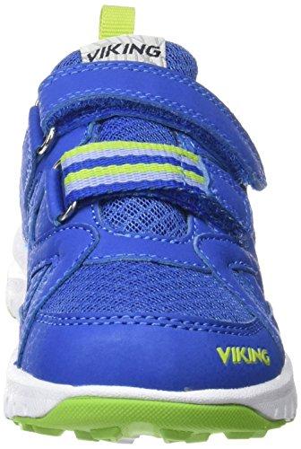 Viking Riptide Ii, Baskets Basses mixte enfant Bleu - Blau (Aqua/Green 3404)