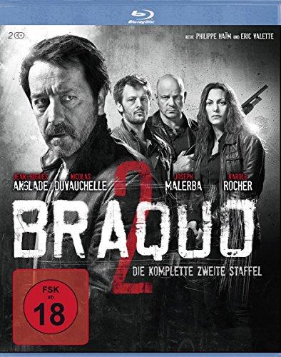 Braquo - Die komplette 2. Staffel (Blu-Ray) [2 DVDs]