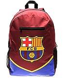 Sac à dos à fermeture éclair adopté par la Ligue de football espagnole FC Barcelone, sac d'école, sac à dos aux couleurs de l'équipe