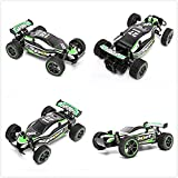 Enlarge toy image: SZJJX RC Cars Rock Off-Road Vehicle Climber Truck 2.4Ghz 2WD High Speed 1:20 Radio Remote Control Racing Cars Electric Fast Race Buggy Hobby Car (Green)