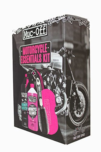 Muc Off Motorcycle Essentials Care Kit