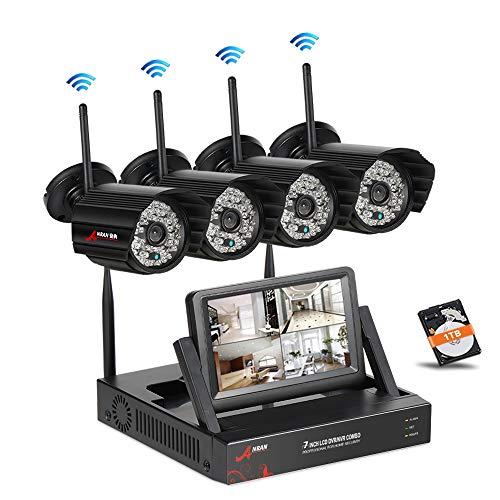 SWINWAY Ãœberwachungskamera Set WLAN 8CH NVR im Test