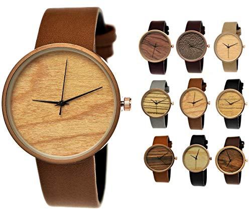 c1ba942285ead Elegante Pure Time® Designer Damen-Uhr Öko Natur Holz-Uhr Armband Uhr Analog