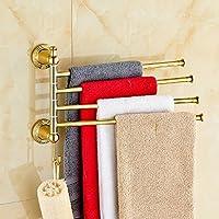ZHGI Rame europeo Golden attività attività asciugamano