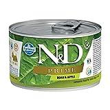 Farmina Natural & Delicious canne Prime Mini con Cinghiale e Mela 140 GR UMIDO