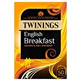 Twinings English Breakfast 50 Tea Bags, 125g