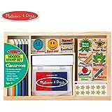 Melissa & Doug 2400 Classroom Stamp Set,Multi Color