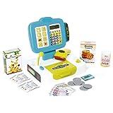 Smoby - 350104 - Petite Caisse Enregistreuse - 27 Accessoires dont Vraie calculette