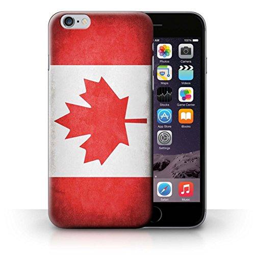 Hülle für iPhone 6+/Plus 5.5 / Schweiz/Swiss / Flagge Kollektion Kanada/Kanadische