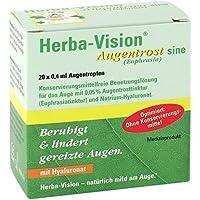 Preisvergleich für Herba-Vision Augentrost sine (Euphrasia) Spar-Set 60x0,4ml. Zur besseren Befeuchtung der Augen, insbesondere beim...
