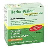Herba-Vision Augentrost sine (Euphrasia) Spar-Set 60x0,4ml. Zur besseren Befeuchtung der Augen, insbesondere beim Tragen von harten und weichen Kontaktlinsen. Beruhigt und lindert gereizte Augen.