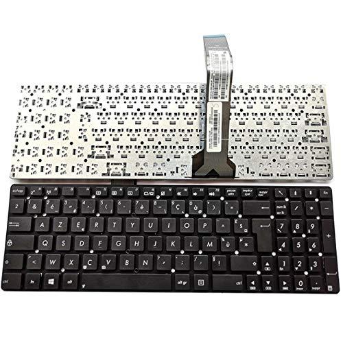 Junweier Französische Tastatur AZERTY für ASUS A75 A75A A75VM A75VD A75DE A700VJ K75V K75VJ Laptop FR -