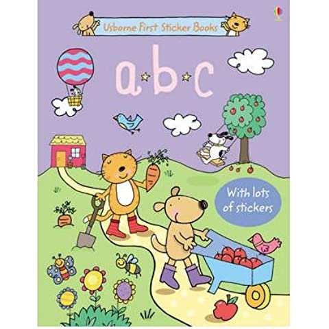 ABC Sticker (Abc Sticker Book)