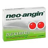 Neo-angin zuckerfrei Halstabletten Lutschtabletten, 24 St.