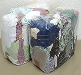 Rehberg´s 20 kg Putzlappen geschnitten aus gewebten bunten Baumwollstoffen Standard-Putzlappen Putztücher
