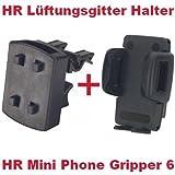 Hr richter Support universel de téléphone portable Smartphone PDA Support de voiture Mini Phone Gripper 61245/46et grille de ventilation pour Motorola RAZR V80V 80RAZR V9V 9SLVR L7L-7e 7SLVR L7e L V1150Seau