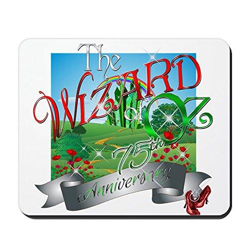 (CafePress–75. Jahrestag der Zauberer von Oz Film Mohn mousep–rutschfeste Gummi Mauspad, Gaming Maus Pad)