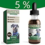 Tauro Pet Healthcare Ultra Effective 5% Hemp Oil (30ml) for Dogs, Cats...