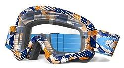 Oakley Xs O-frame Kids Goggles Navyorange Digi Slashed
