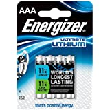 Energizer - Pile Lithium - AAA Ultimate (LR03)