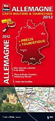 Allemagne 2012 - Carte routière et touristique