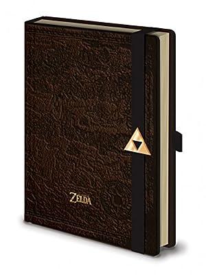 The Legend Of Zelda Carnet Bloc-Notes - Hyrule Map (21 x 15 cm)