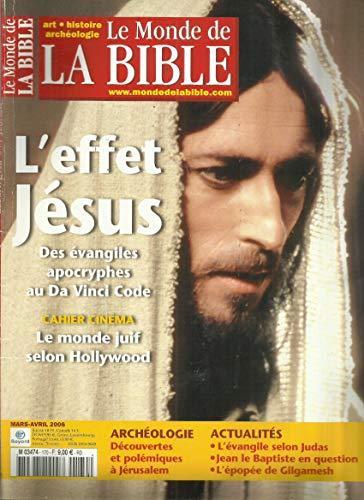L'effet Jésus, des évangiles apocryphes au Da Vinci Code.