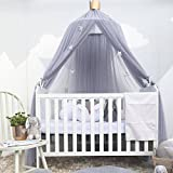 Reefa Moskitonetz für Kinder Baby, Round Dome Kinder Indoor Outdoor Castle Spiel Zelt hängen kinderzimmerdekoration