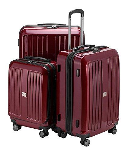 HAUPTSTADTKOFFER Sets de bagages, , 260 L, Rouge brillant avec TSA