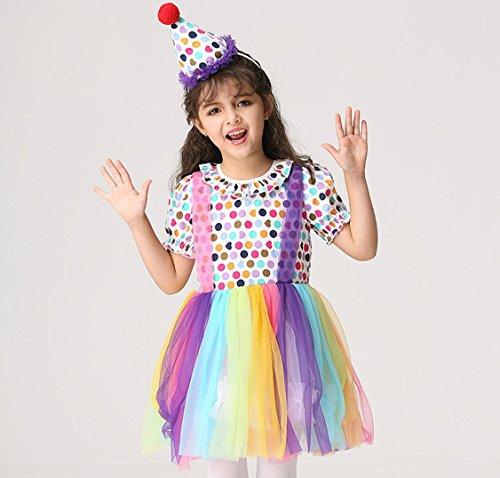 Kinder-Kostüm Halloween Kostüme Tanz Kostüm-Wettbewerb (4 Größen), XL