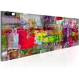 murando Cuadro en Lienzo 135x45 cm - 3 tres colores a elegir - 1 Partes - Formato Grande - Impresion en calidad fotografica - Cuadro en lienzo - abstraccion a-A-0217-b-b 135x45 cm