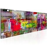 murando - Bilder 120x40 cm - Leinwandbilder - Fertig Aufgespannt - Vlies Leinwand - 1 Teilig - Wandbilder XXL - Kunstdrucke - Wandbild - Abstrakt a-A-0217-b-b