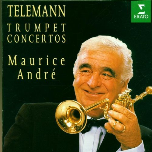 Telemann: Trumpet Concertos by Maurice Andre